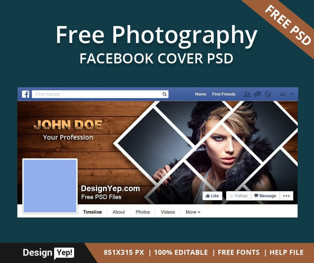 001 Facebook Cover Photoshop Template Phenomenal Ideas Throughout Photoshop Facebook Banner Template