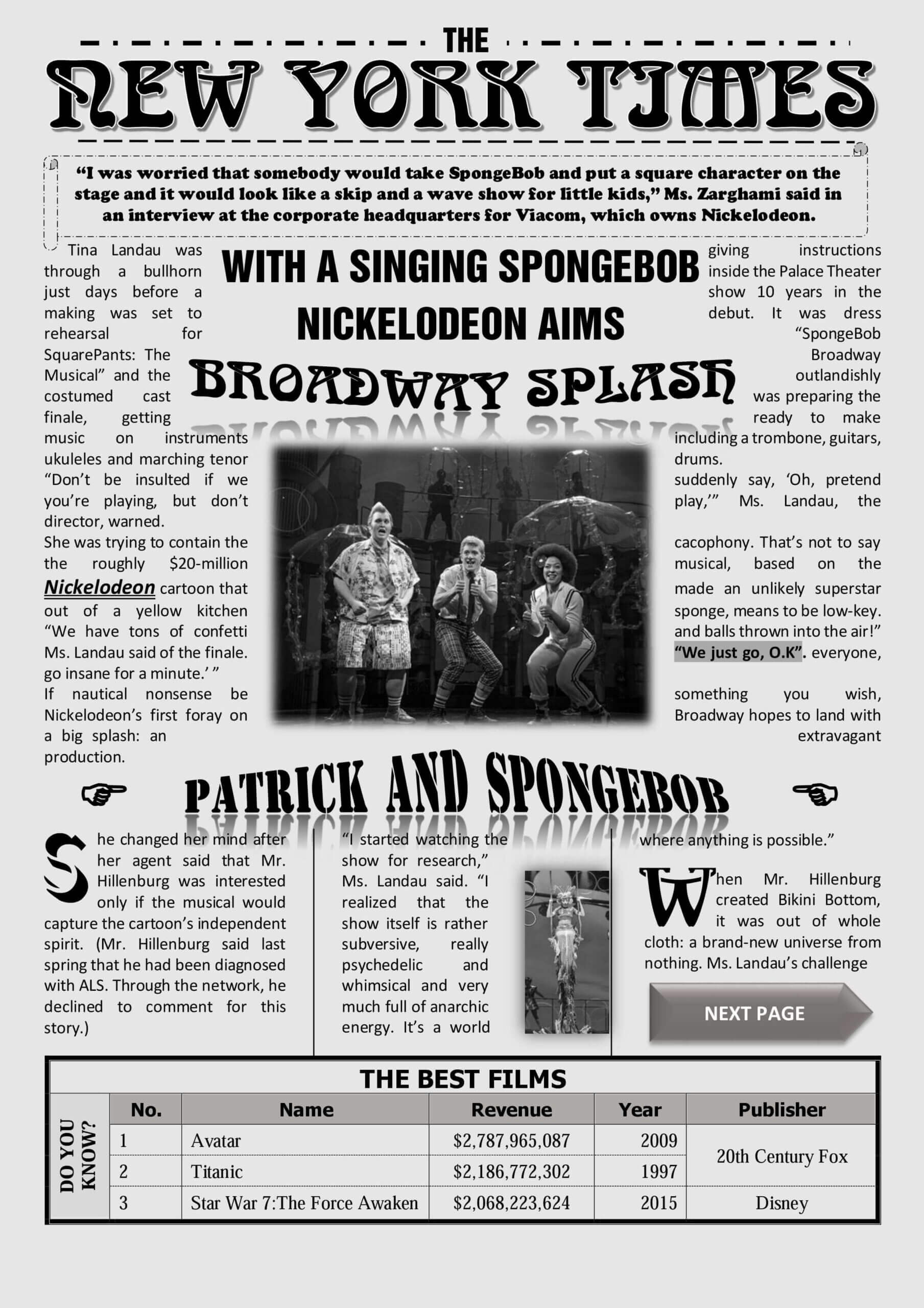 001 Free Newspaper Template For Word Striking Ideas Throughout Blank Newspaper Template For Word