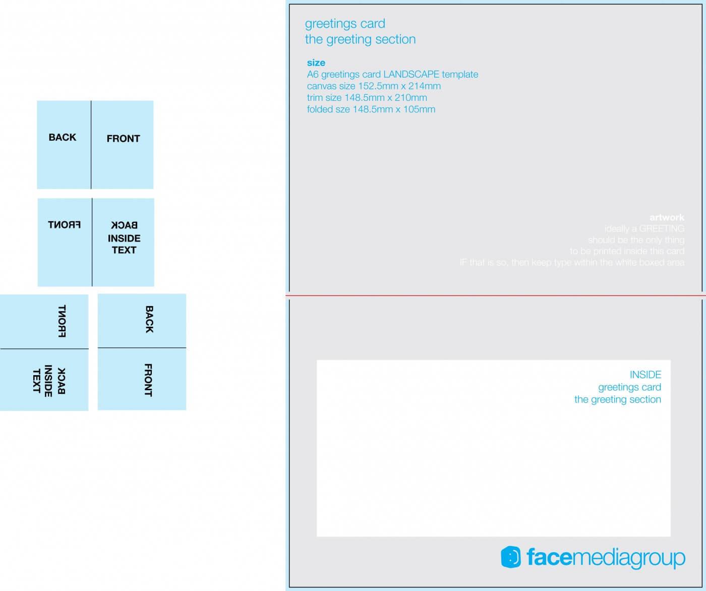 002 Template Ideas Blank Quarter Fold Card Free 1625413 Four Regarding Free Blank Greeting Card Templates For Word