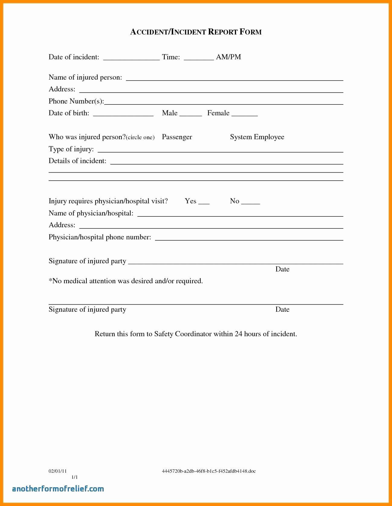 003 Template Ideas Incident Reportm Accidentms Hazard Inside Incident Hazard Report Form Template
