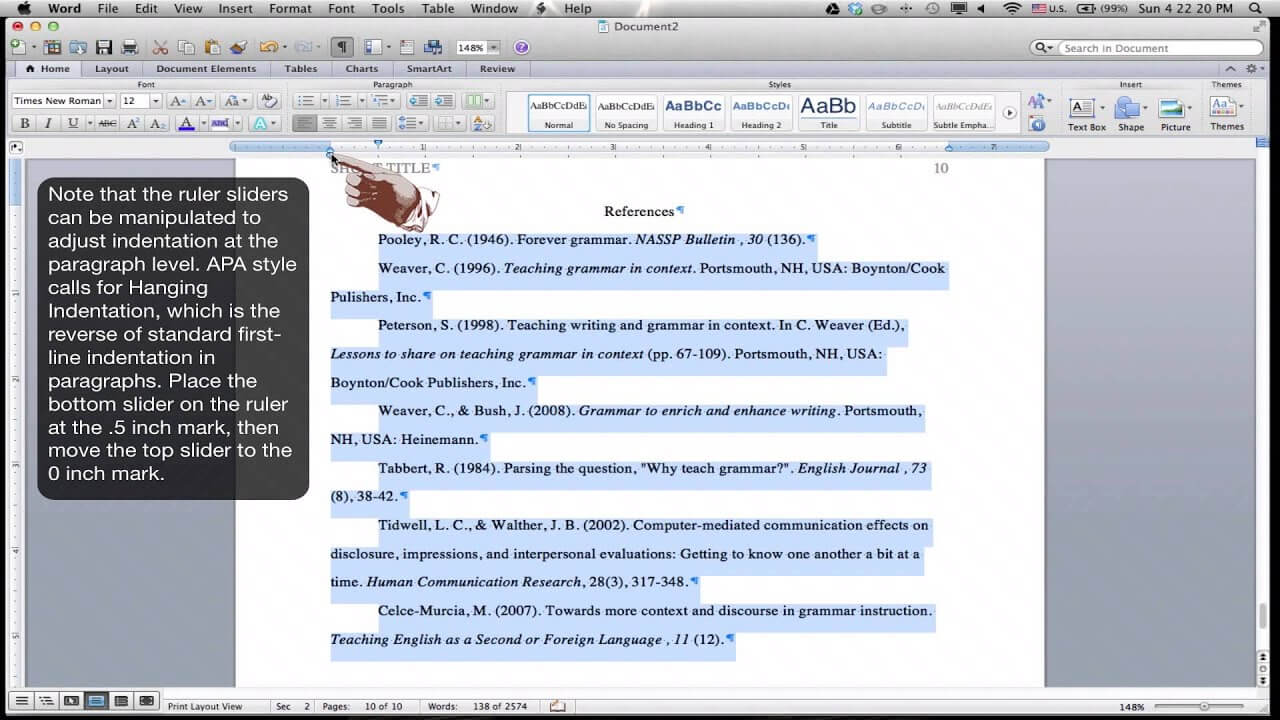 004 Apa Reference Page Format In Word Template Ideas Regarding Apa Template For Word 2010