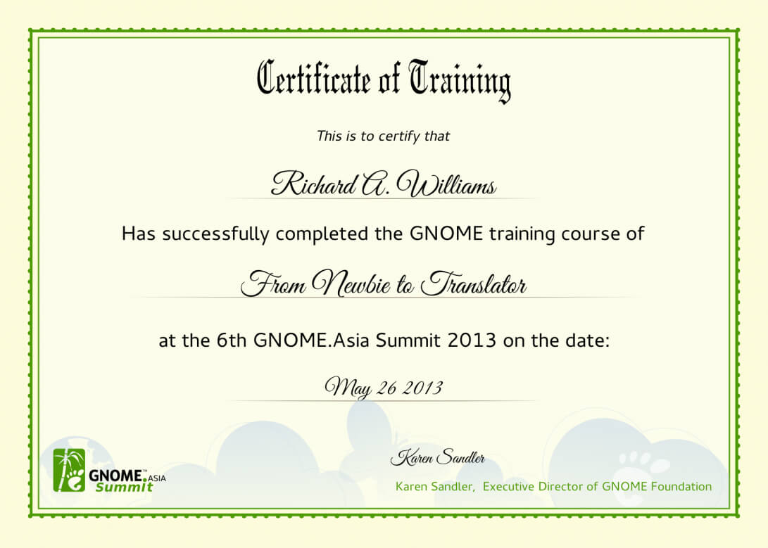 004 Computer Course Certificate Template Free Download Ideas Throughout Training Certificate Template Word Format