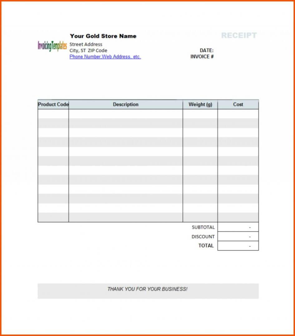 005 Blank Receipt Template Pdf Ideas Editable Invoice For Blank Taxi Receipt Template
