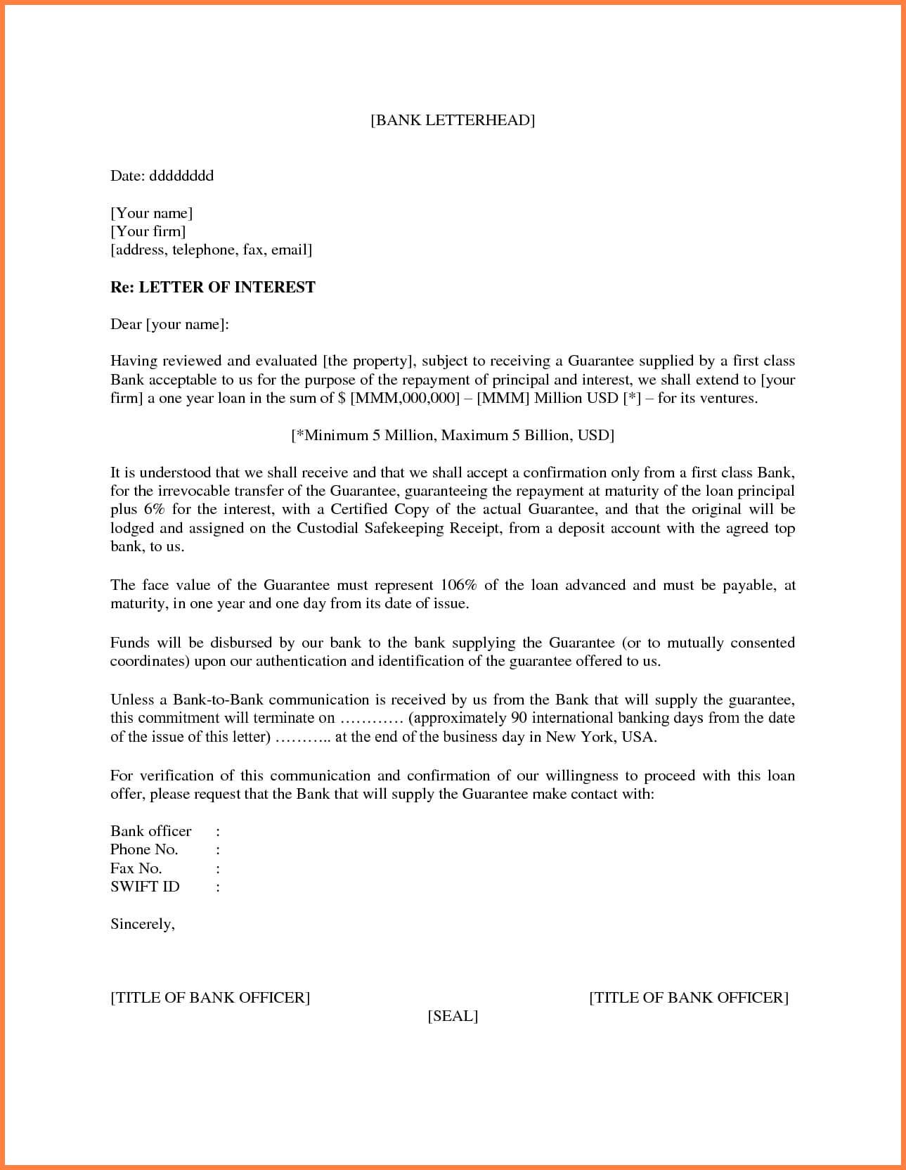 006 Template Ideas Letter Of Interest Microsoft Word With Letter Of Interest Template Microsoft Word