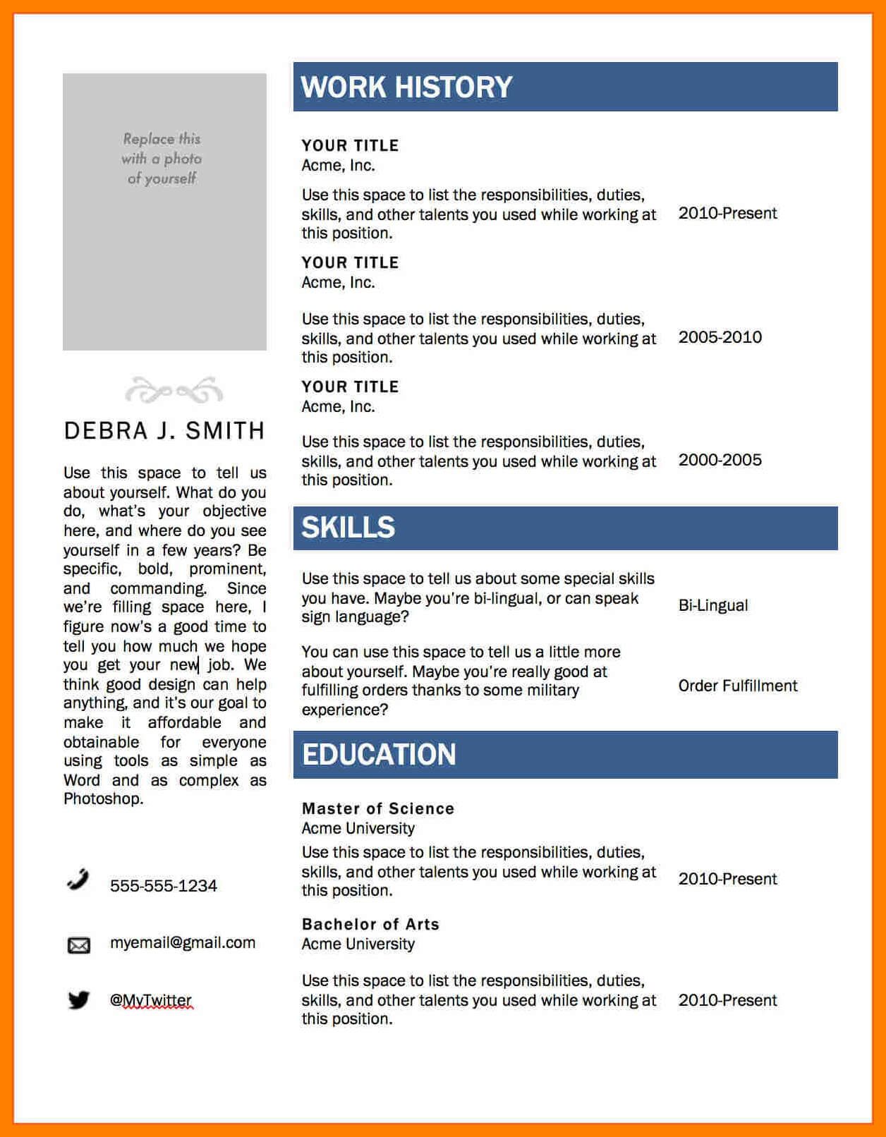 008 Template Ideas Resume Layout Word Cv Templates Microsoft Intended For Resume Templates Word 2007