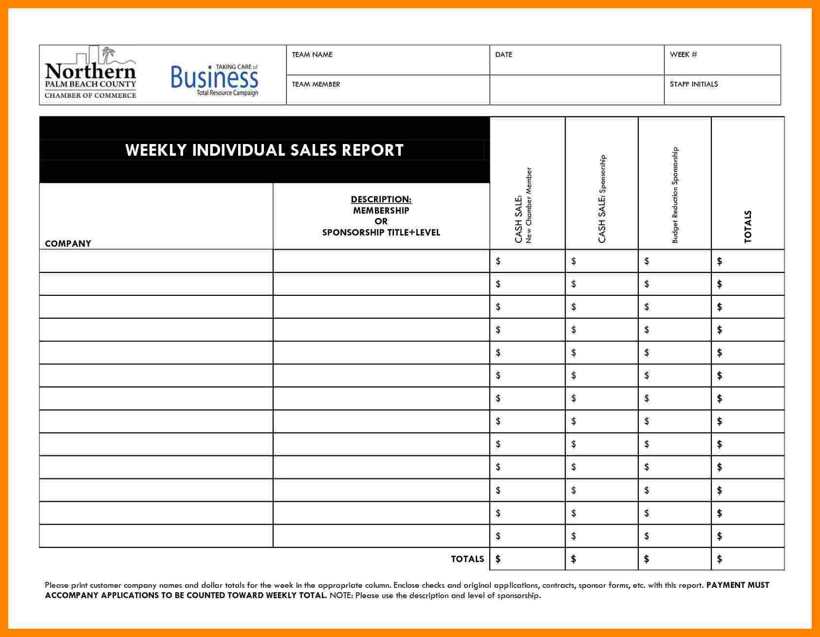 010 Daily Activity Report Template Free Download Salesll Pertaining To Daily Sales Call Report Template Free Download