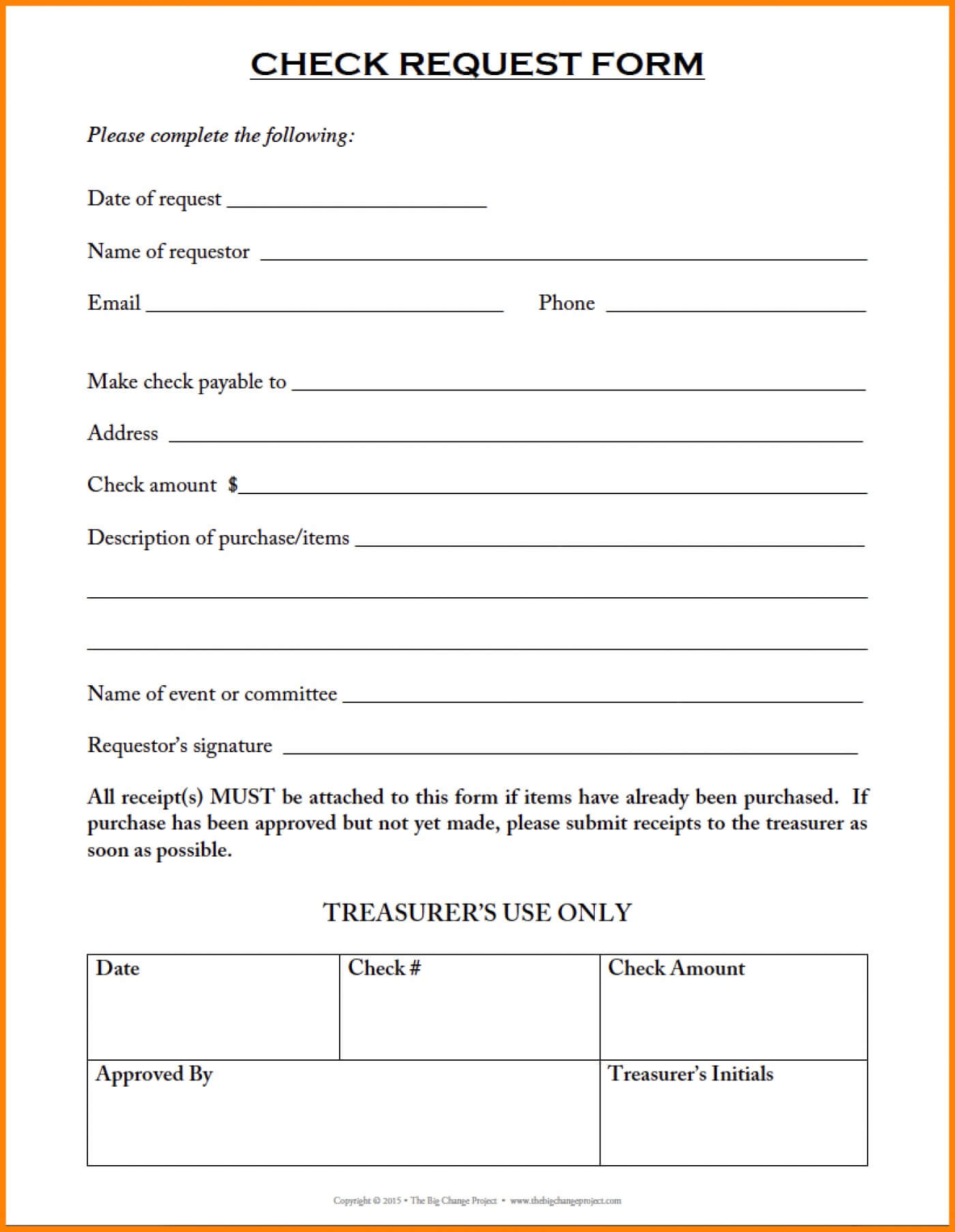 013 Check Request Form Template Excel Free Project Elegant Throughout Check Request Template Word