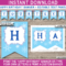 016 Diy Birthday Banner Template Free Printable Happy With Regard To Diy Party Banner Template