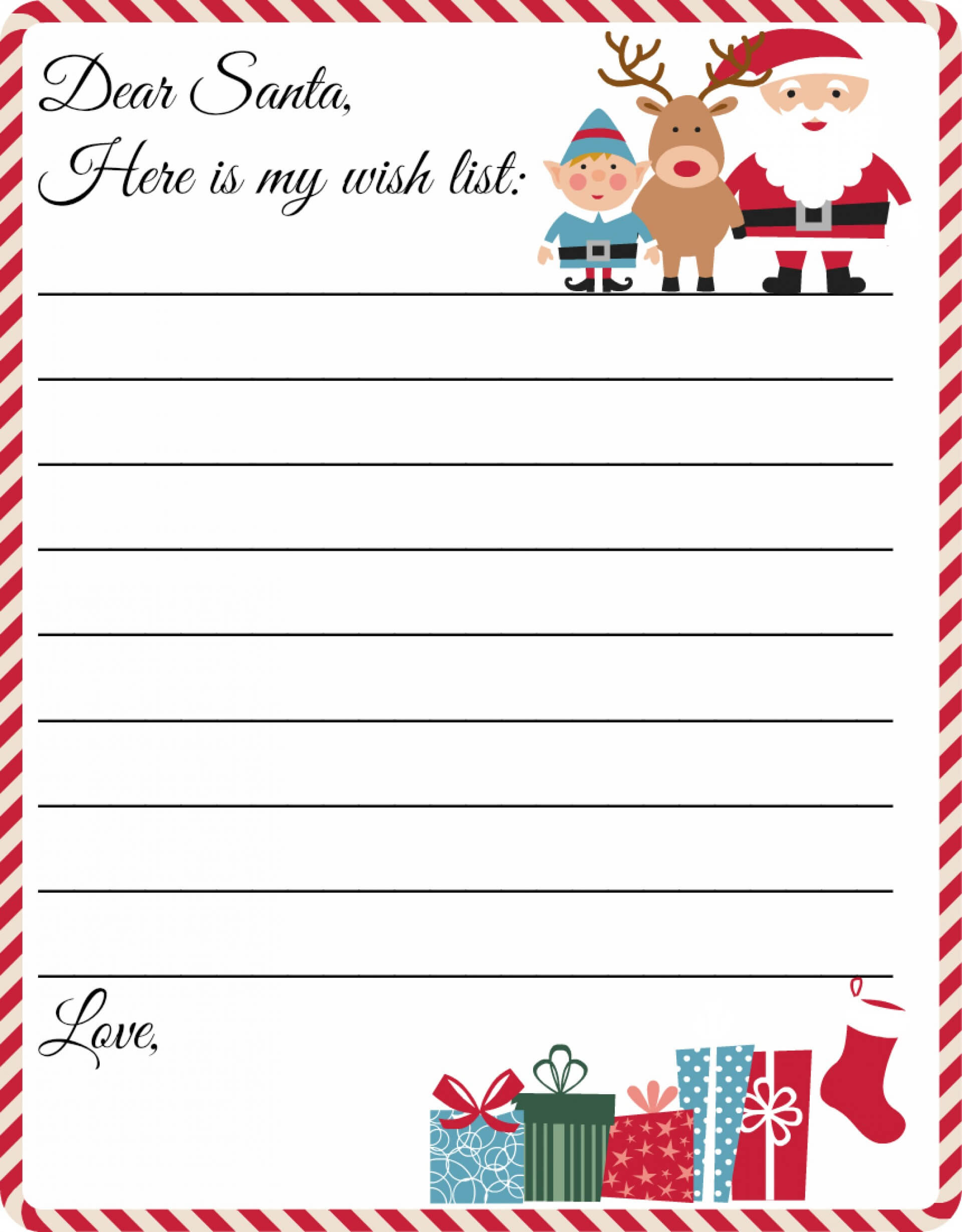 016 Ms Word Letter From Santa Template Letters Ideas To Regarding Santa Letter Template Word