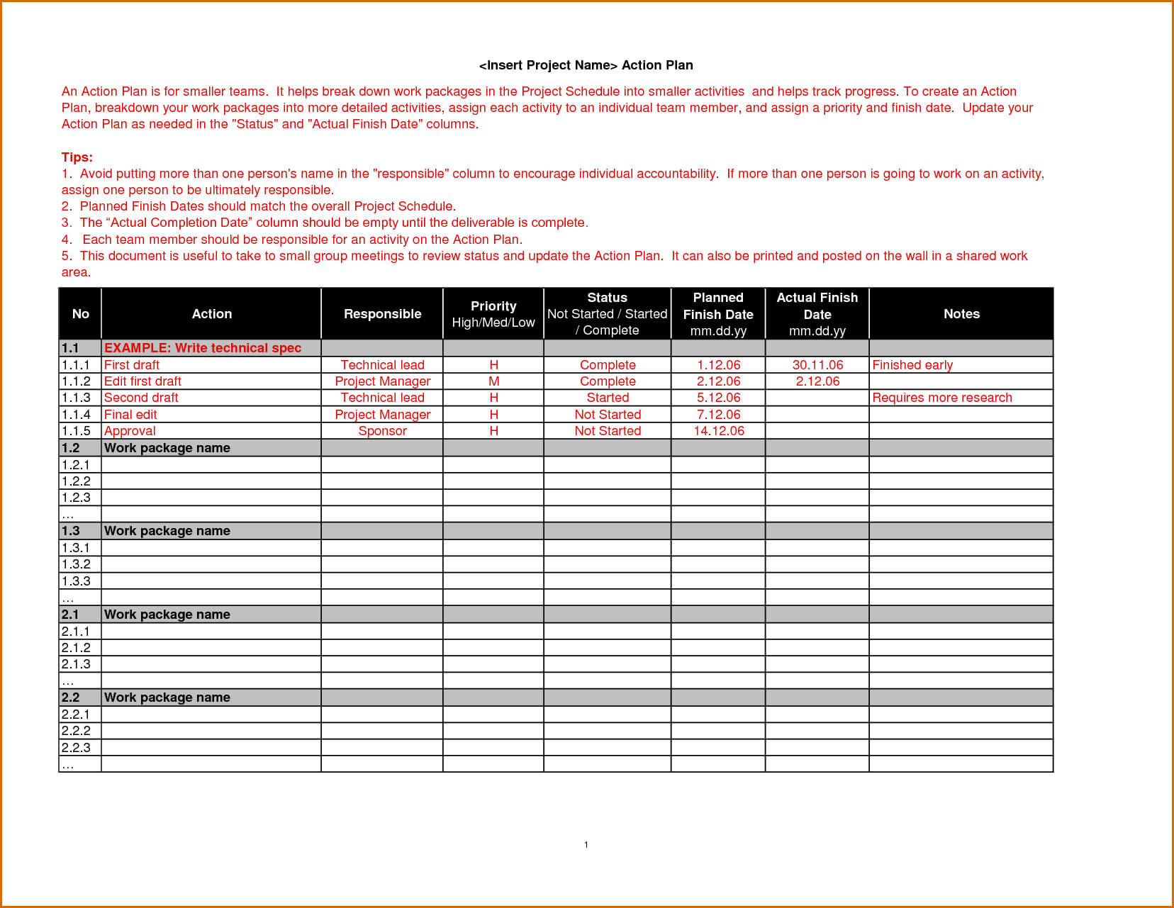 018 Weekly Work Plan Template Word Ideas Action Exceptional Regarding Work Plan Template Word