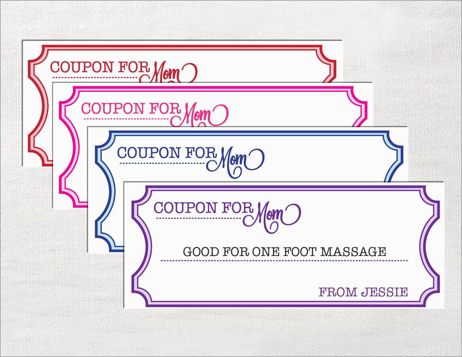 020 Free Coupon Template Word Ideas Exceptional Blank For Blank Coupon Template Printable