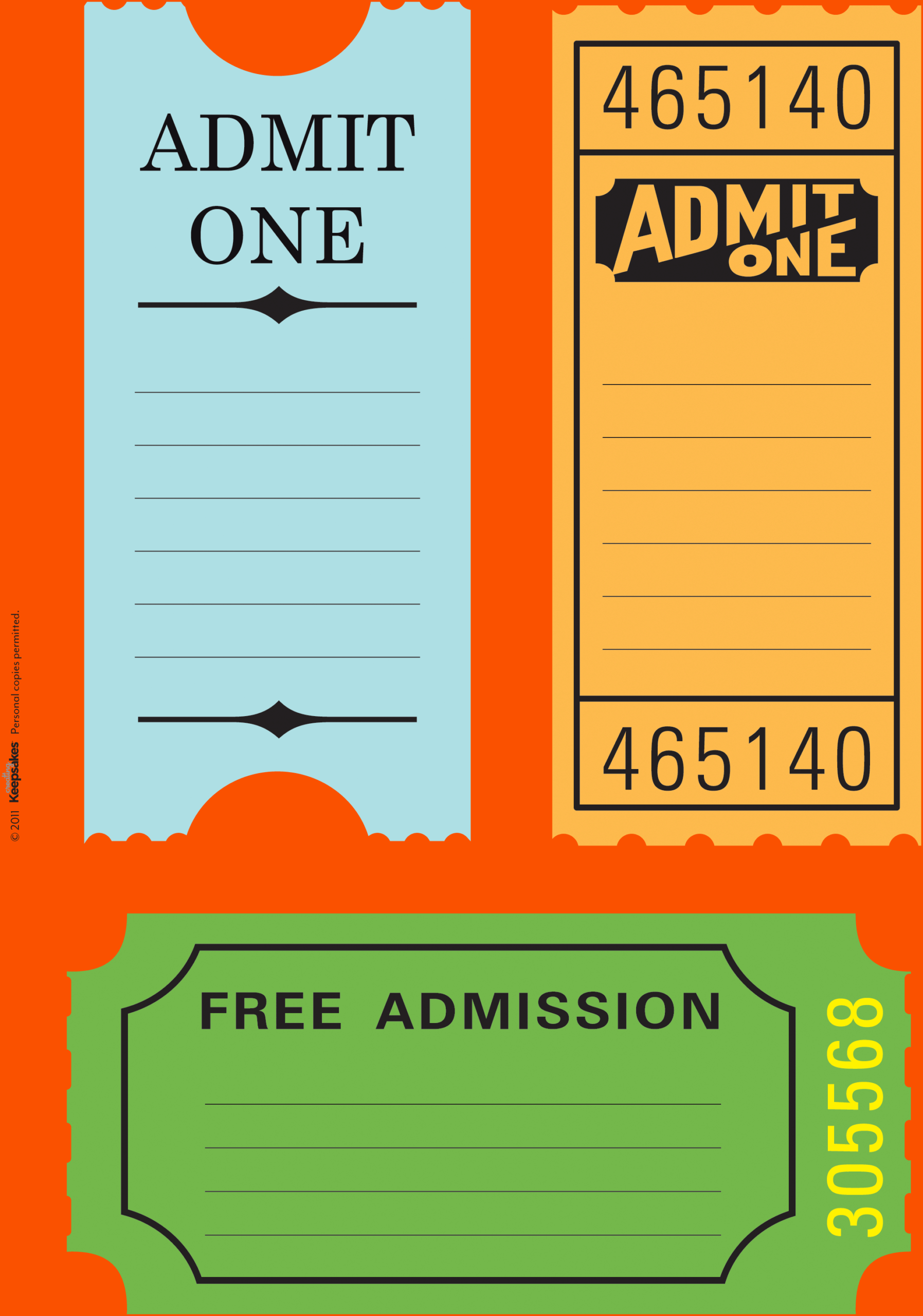023 Free Printable Ticket Templates Travel Tickets Intended For Blank Admission Ticket Template