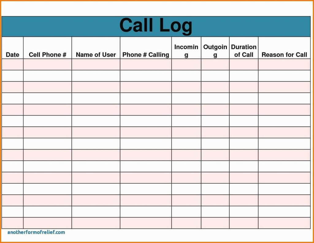 023 Sales Call Report Template Free Also Daily Excel Unique Within Sales Call Report Template Free