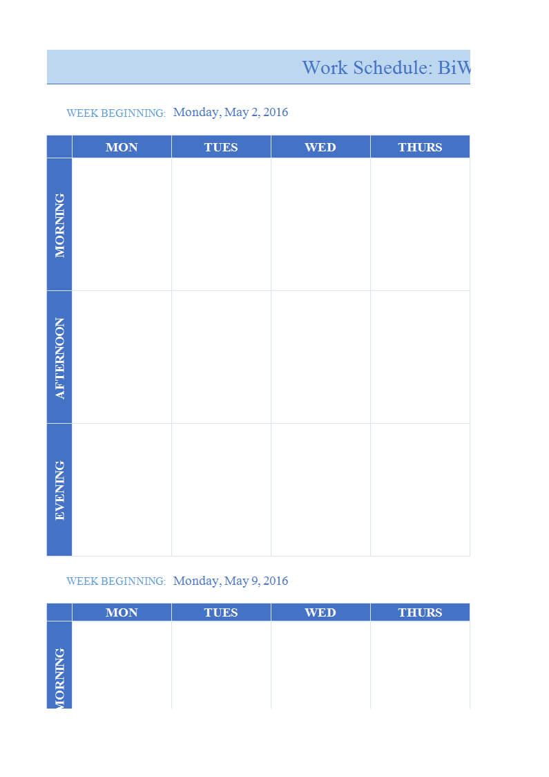 027 Weekly Work Plan Template Word Ideas Calendar Example In Work Plan Template Word