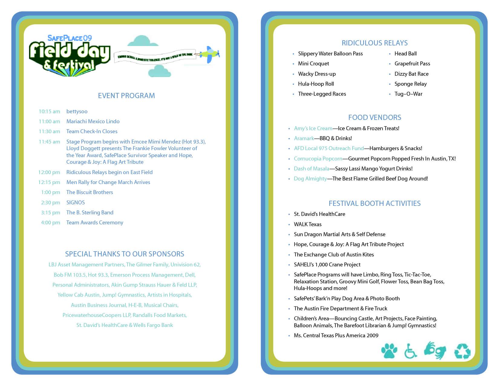 029 Sample Event Program Template 1926 Free Printable Within Free Event Program Templates Word