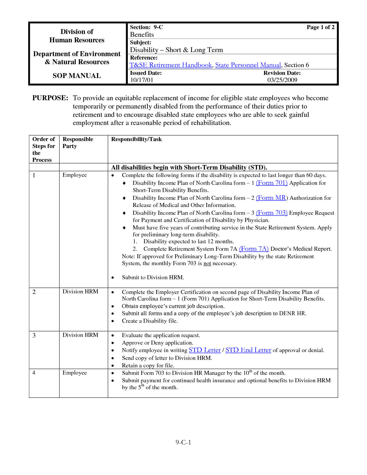 030 Template Ideas Standard Operating Procedure Free Manual Throughout Procedure Manual Template Word Free