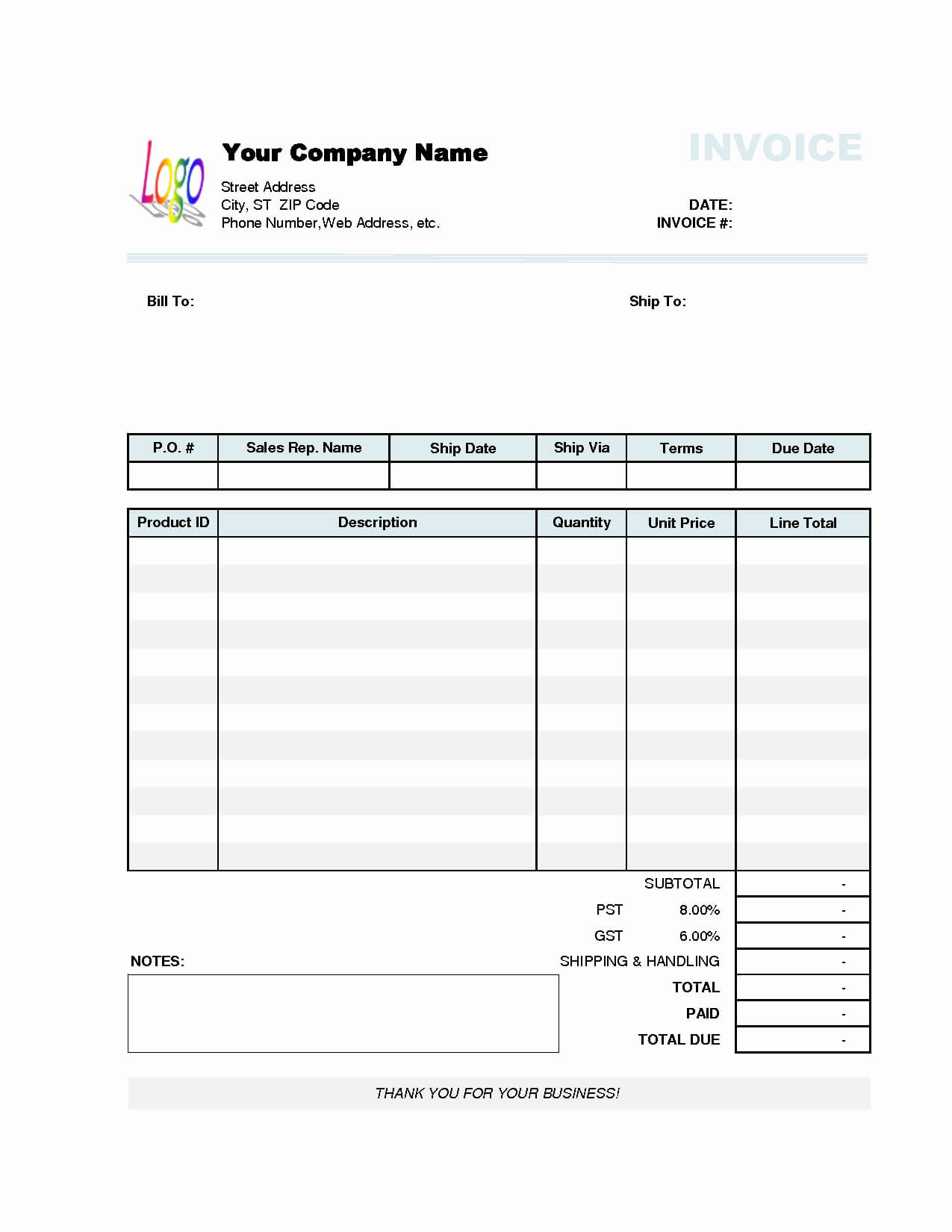 032 Simple Invoice Template Word Fresh Excel Of In With Regard To Invoice Template Word 2010
