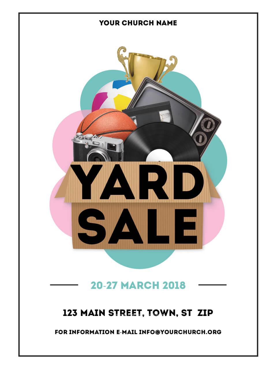 032 Yard2 1Fit9602C1280Ssl1 Yard Sale Flyer Template Throughout Yard Sale Flyer Template Word