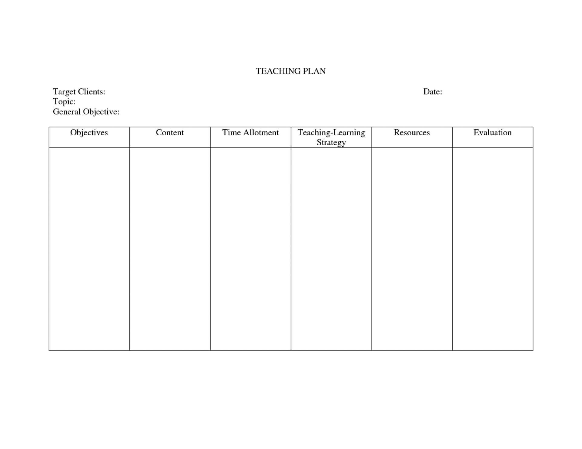 034 Nursing Care Plan Blanks Template Ideas Cpo ...