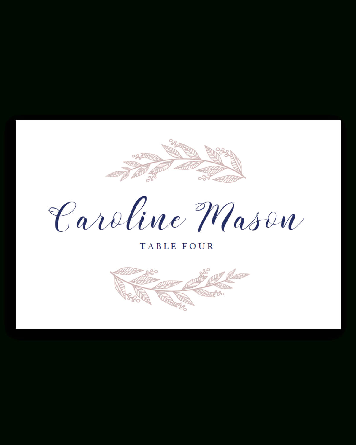 037 Place Card Template Free Best Ideas Download Christmas With Wedding Place Card Template Free Word
