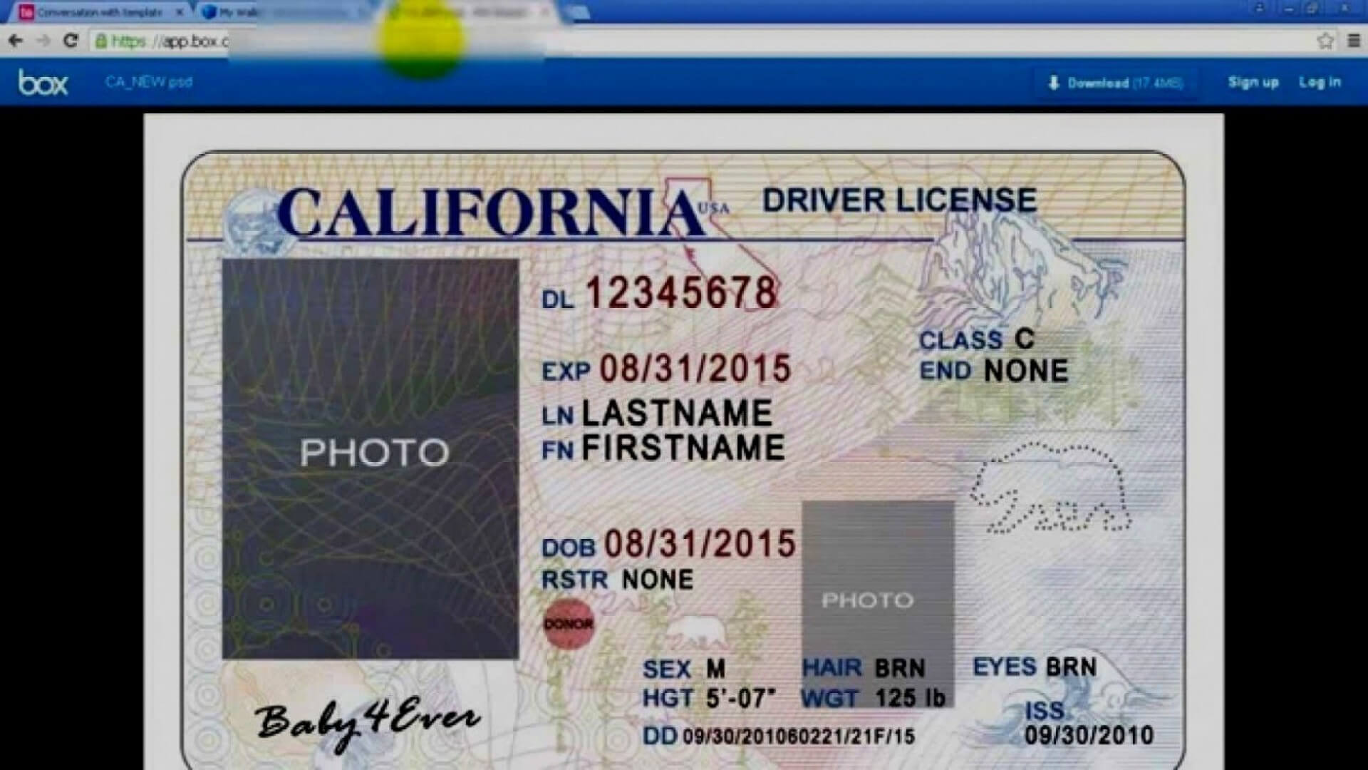 045 Id2Bcard2Btemplate2Bfront Blank Id Card Template Psd Throughout Blank Drivers License Template