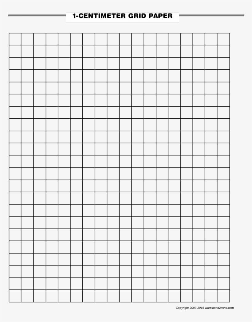 1 Centimeter Graph Paper - Blank Graph Paper With Numbers Throughout Blank Perler Bead Template