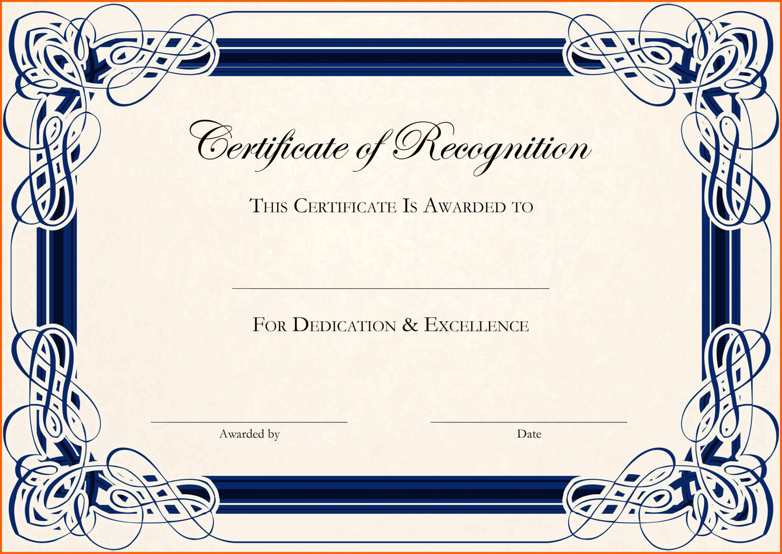 11+ Free Downloads Certificate Templates In Word | Ml Datos Regarding Certificate Templates For Word Free Downloads