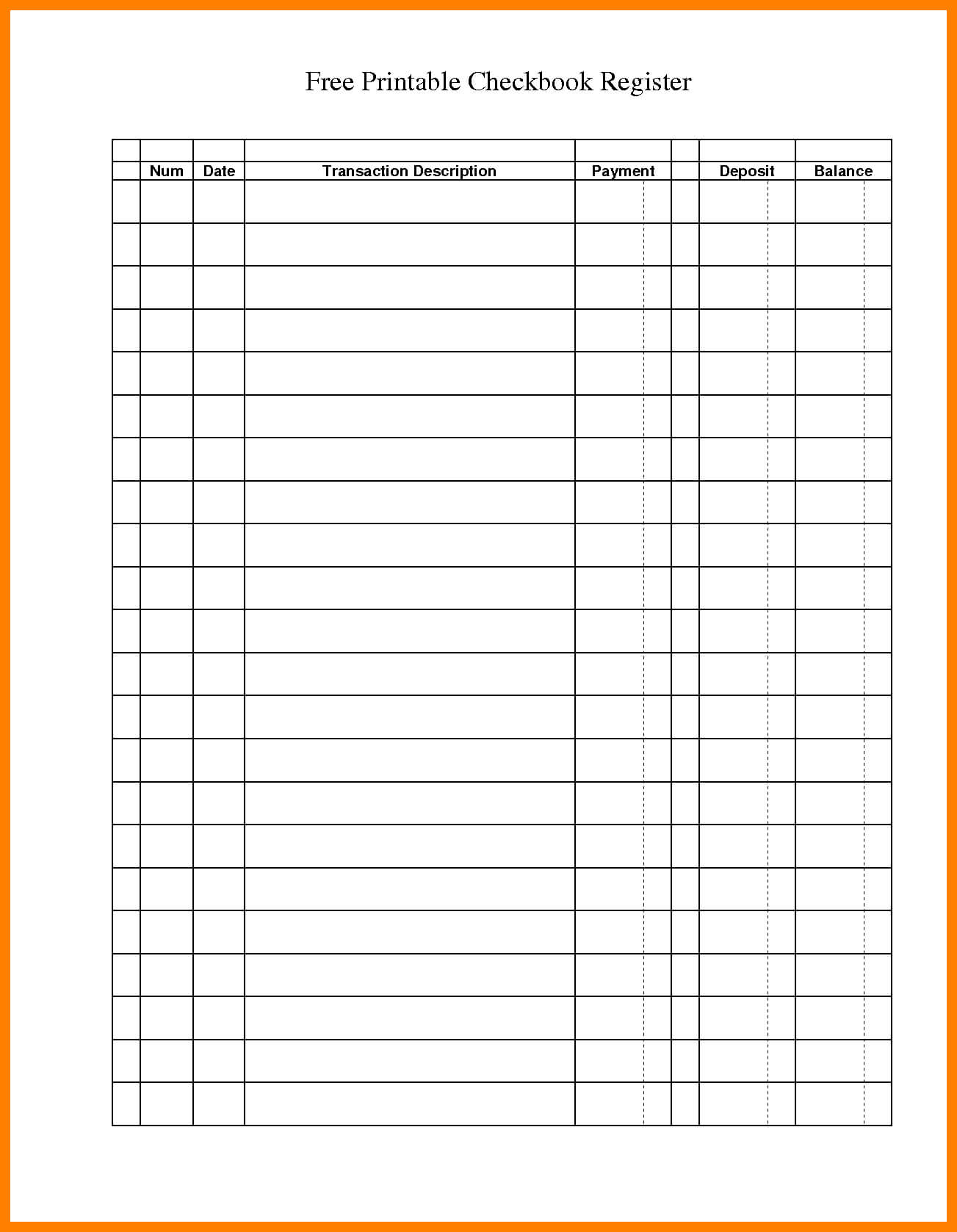 12+ Free Printable General Ledger Template   St With Blank Ledger Template