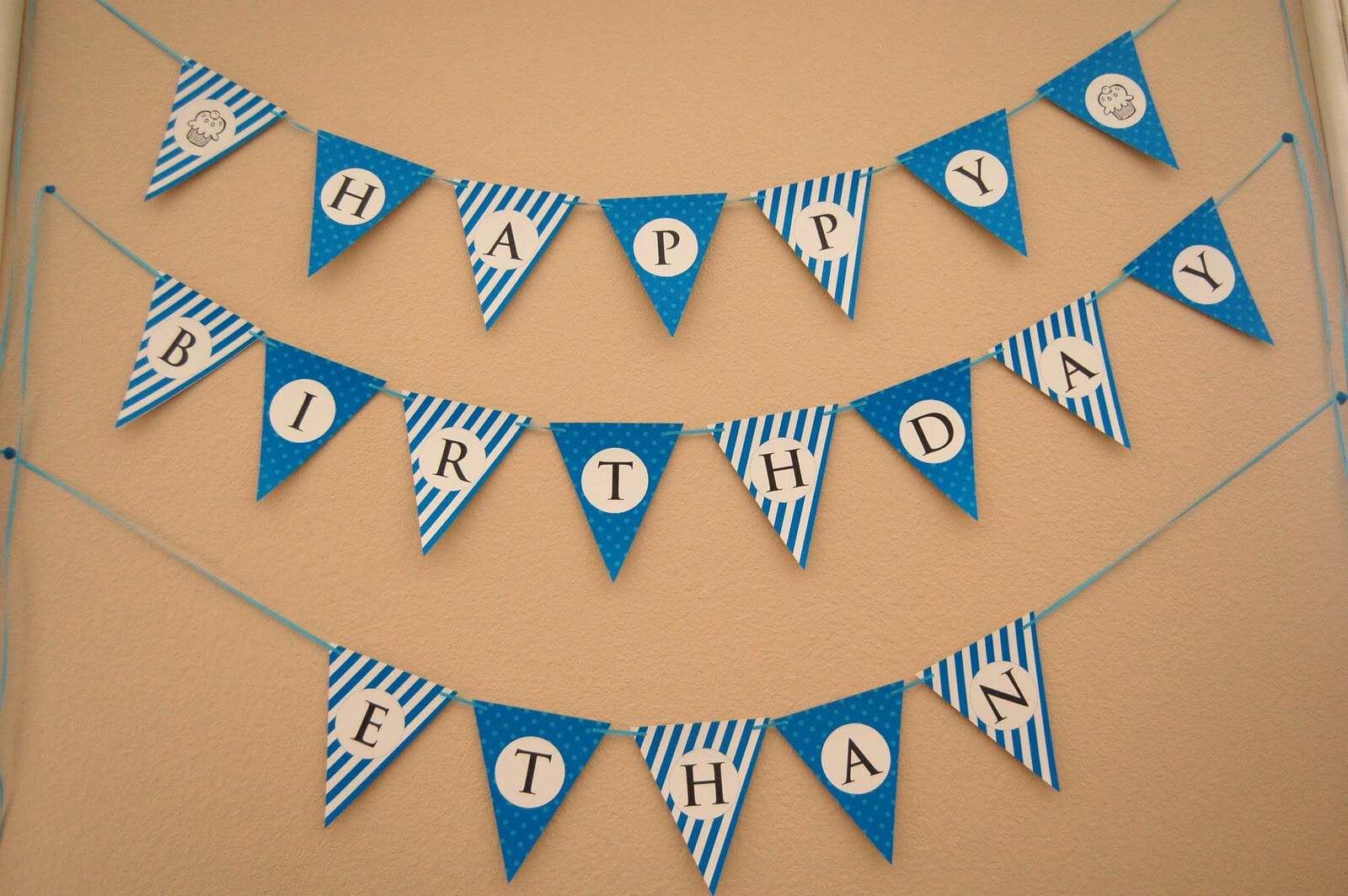 13 Happy Birthday Banner Design Images - Free Happy Birthday Intended For Free Happy Birthday Banner Templates Download