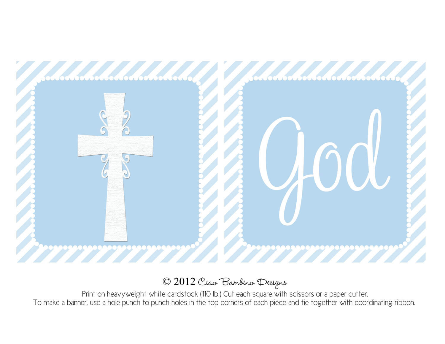 14 Christening Banner Template Free Download, Banner Intended For Christening Banner Template Free