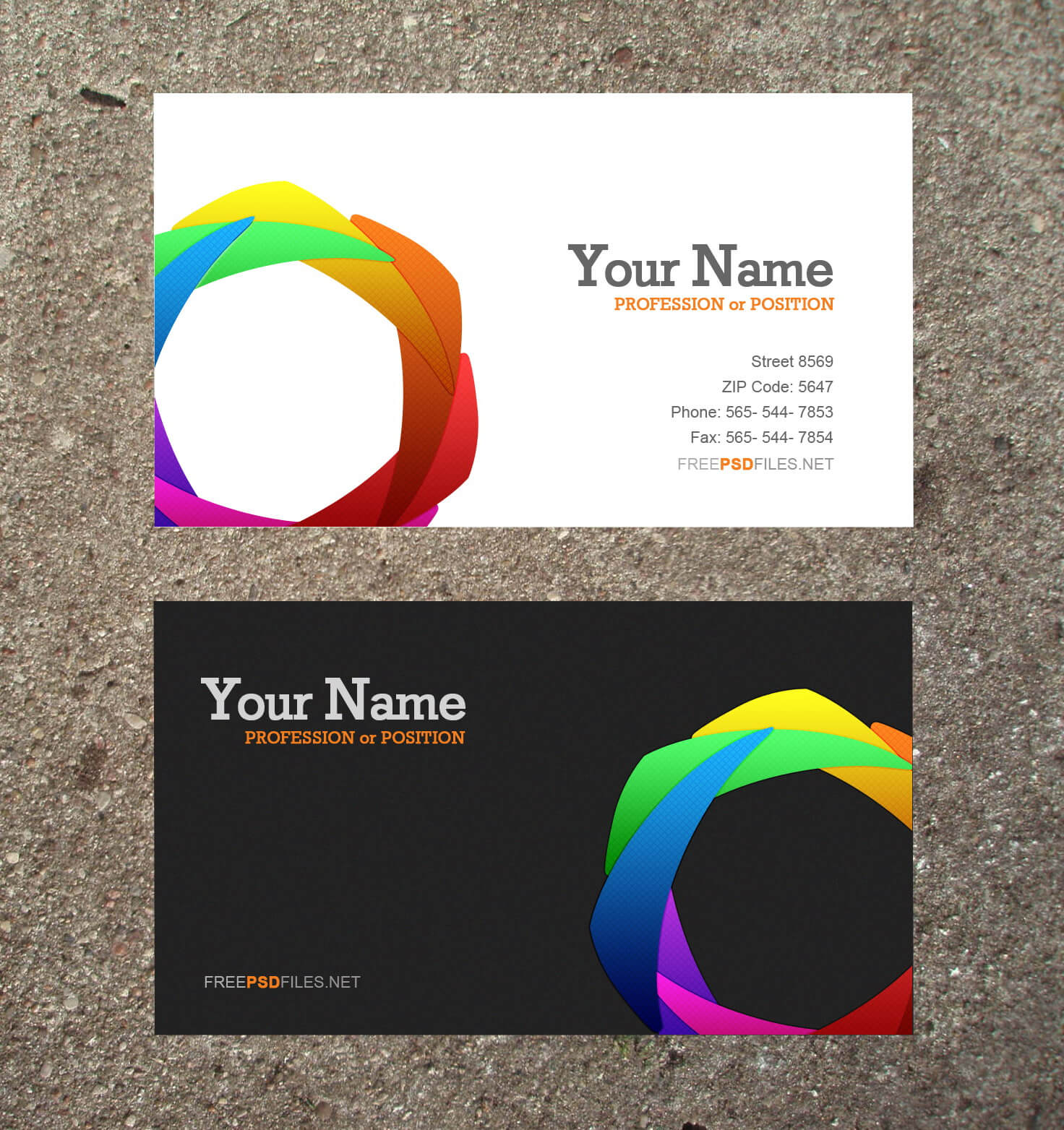 17 Business Cards Templates Free Downloads Images – Free In Blank Business Card Template Download
