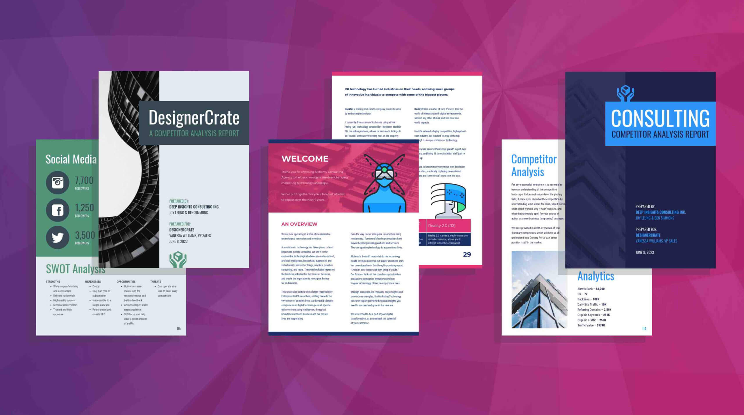 19 Consulting Report Templates That Every Consultant Needs Regarding Mckinsey Consulting Report Template