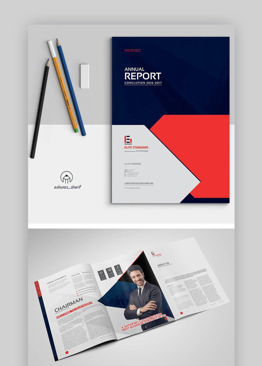 20 Best Annual Report Template Designs (For Financial Year Within Chairman's Annual Report Template