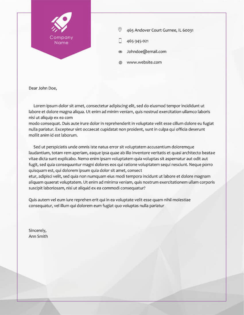 20 Best Free Microsoft Word Corporate Letterhead Templates Within Free Letterhead Templates For Microsoft Word