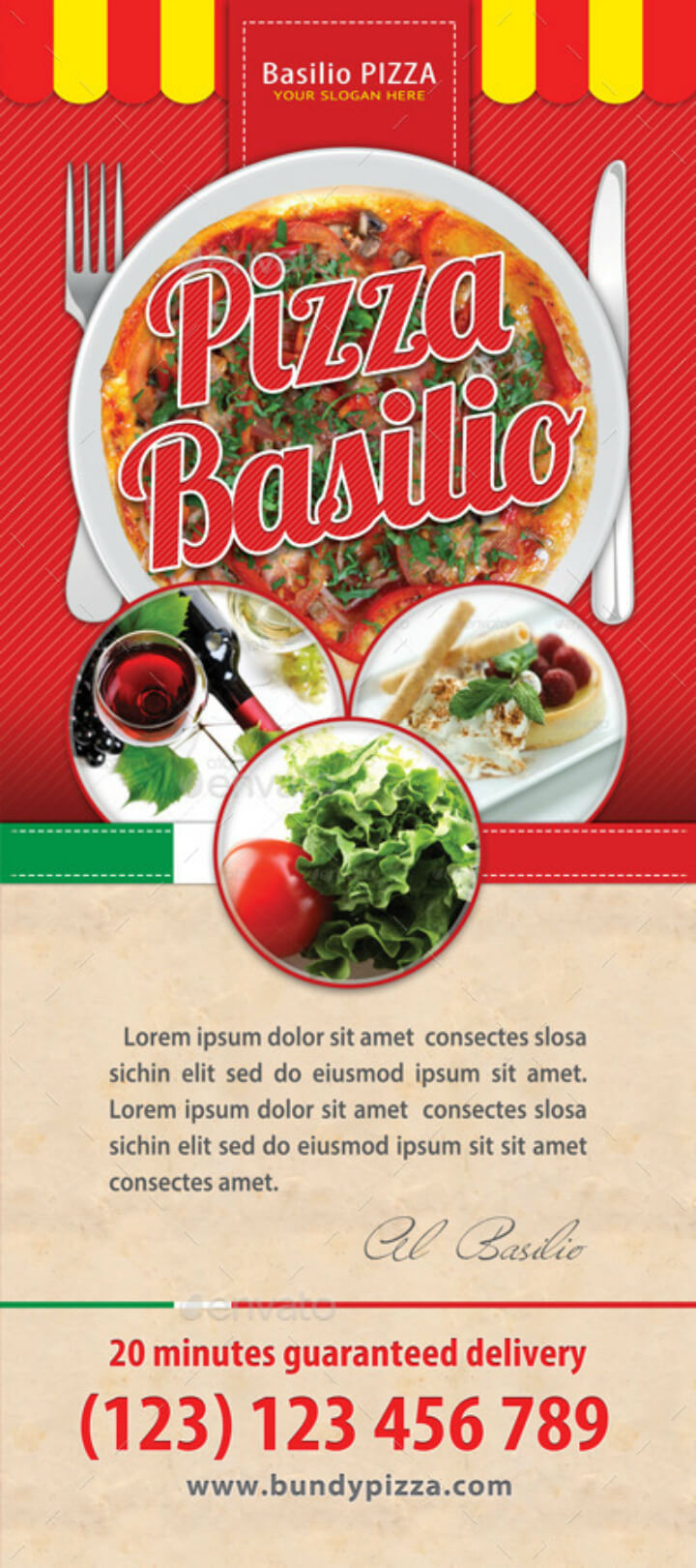 20+ Best Restaurant Roll Up Banner Template | Free & Premium With Regard To Food Banner Template