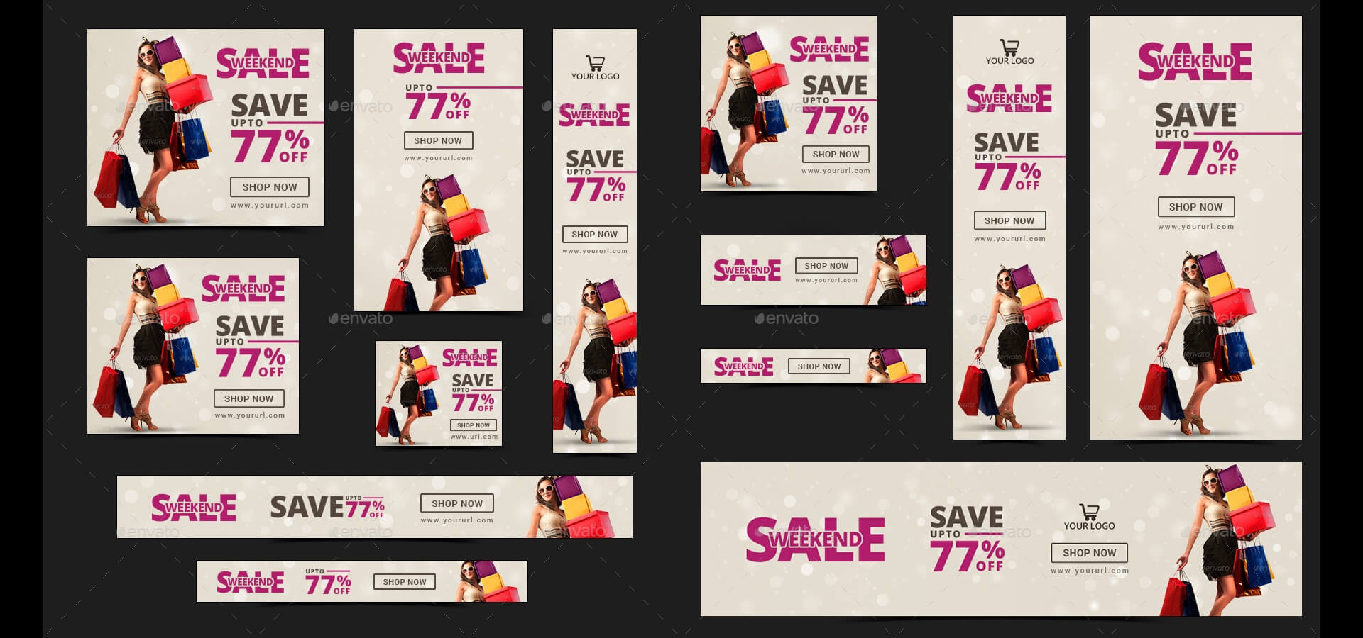20 + Printable Product Sale Banners - Psd, Ai, Eps Vector In Product Banner Template