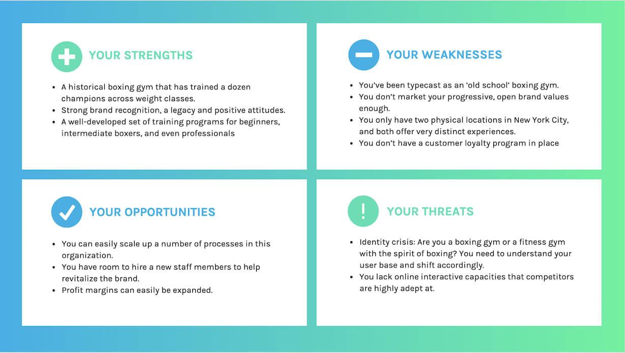 20+ Swot Analysis Templates, Examples & Best Practices Regarding Strategic Analysis Report Template
