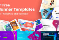 21 Free Banner Templates For Photoshop And Illustrator regarding Free Website Banner Templates Download