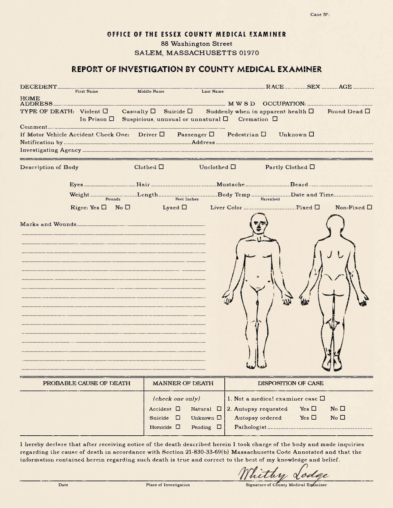 25 Images Of Sample Autopsy Report Blank Template | Gieday In Blank Autopsy Report Template