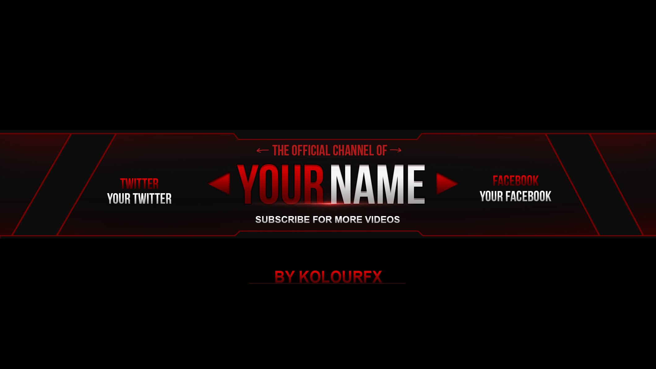 27 Images Of Free Youtube Banner Template No Text Metin2 Throughout Banner Template For Photoshop