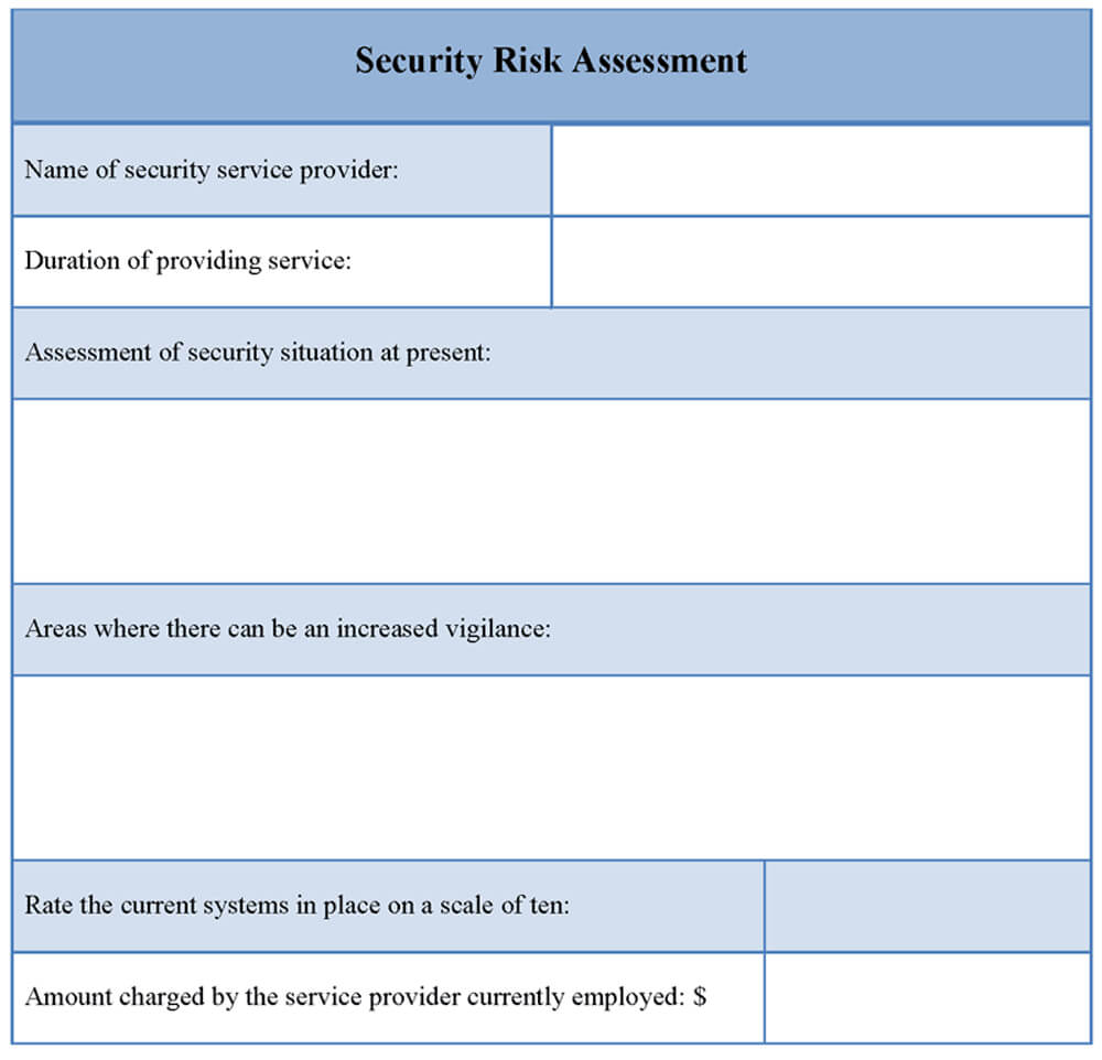 27 Images Of Security Assessment Report Sample Template Within Physical Security Risk Assessment Report Template