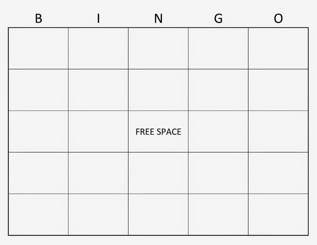 28+ [ Blank Bingo Card Template Microsoft Word ] | Microsoft Intended For Blank Bingo Template Pdf