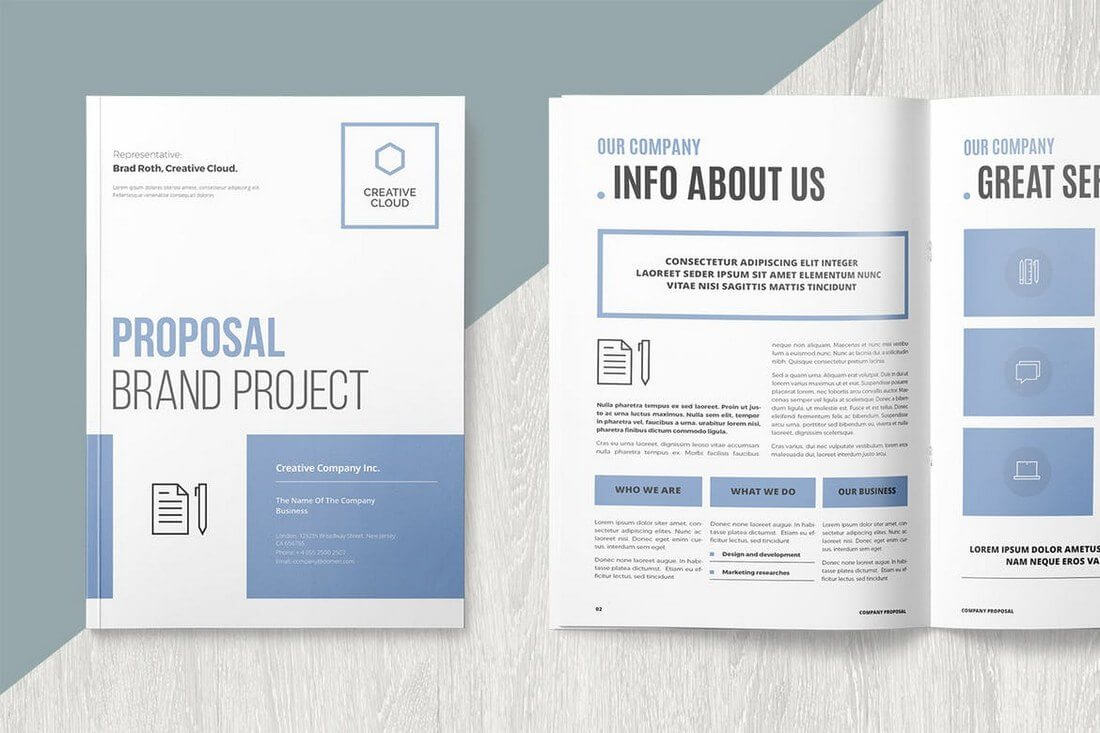 30+ Best Microsoft Word Brochure Templates – Creative Touchs With Word Catalogue Template