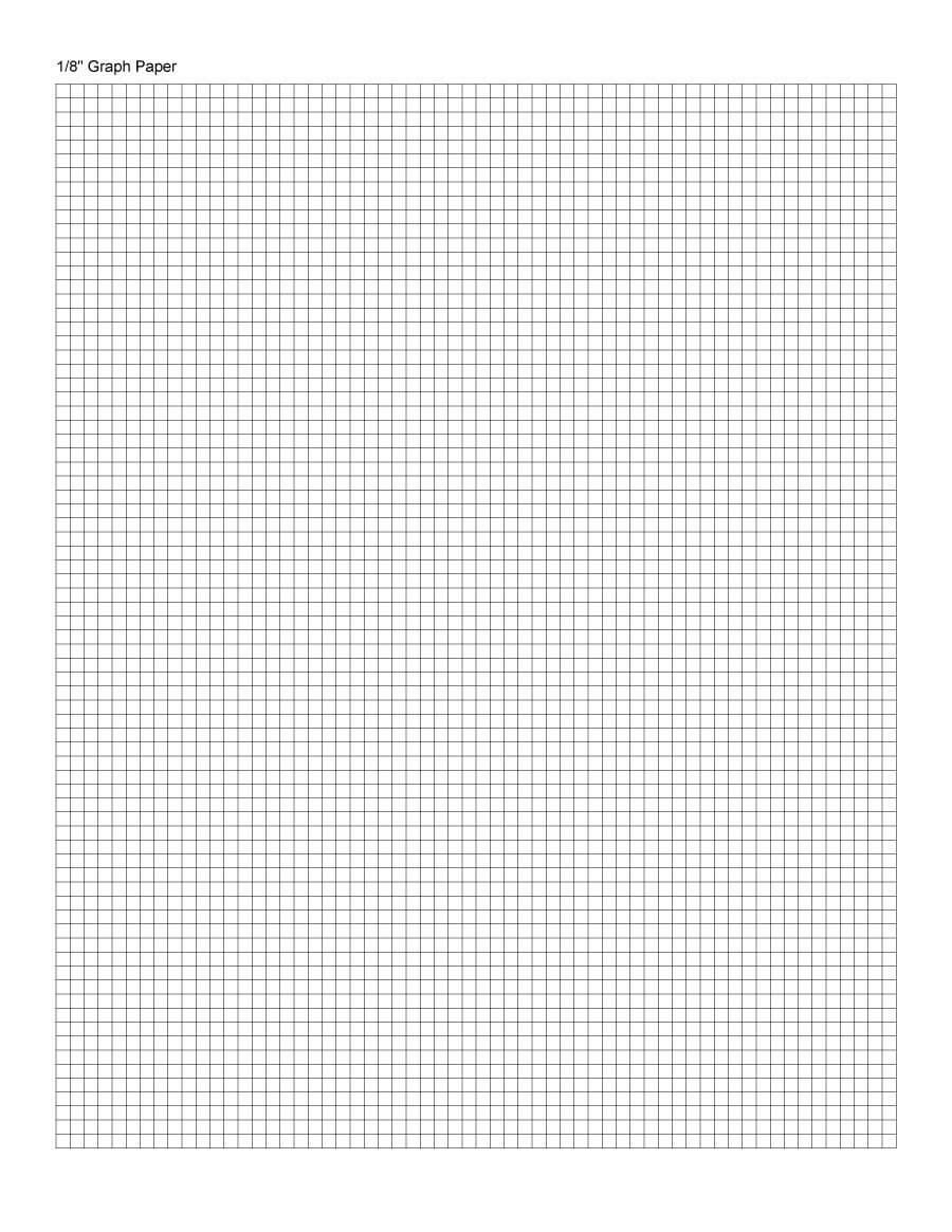 30+ Free Printable Graph Paper Templates (Word, Pdf) ᐅ Inside Graph Paper Template For Word