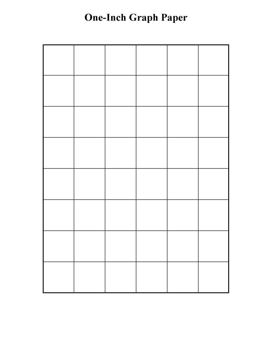 30+ Free Printable Graph Paper Templates (Word, Pdf) ᐅ With Regard To Graph Paper Template For Word