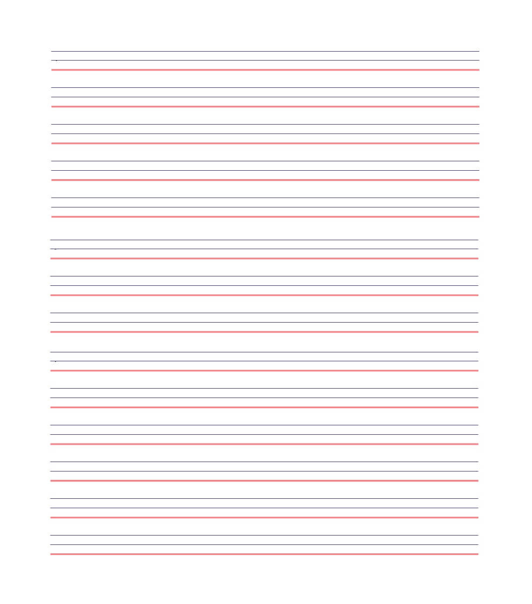 32 Printable Lined Paper Templates ᐅ Template Lab For Ruled Paper Word Template