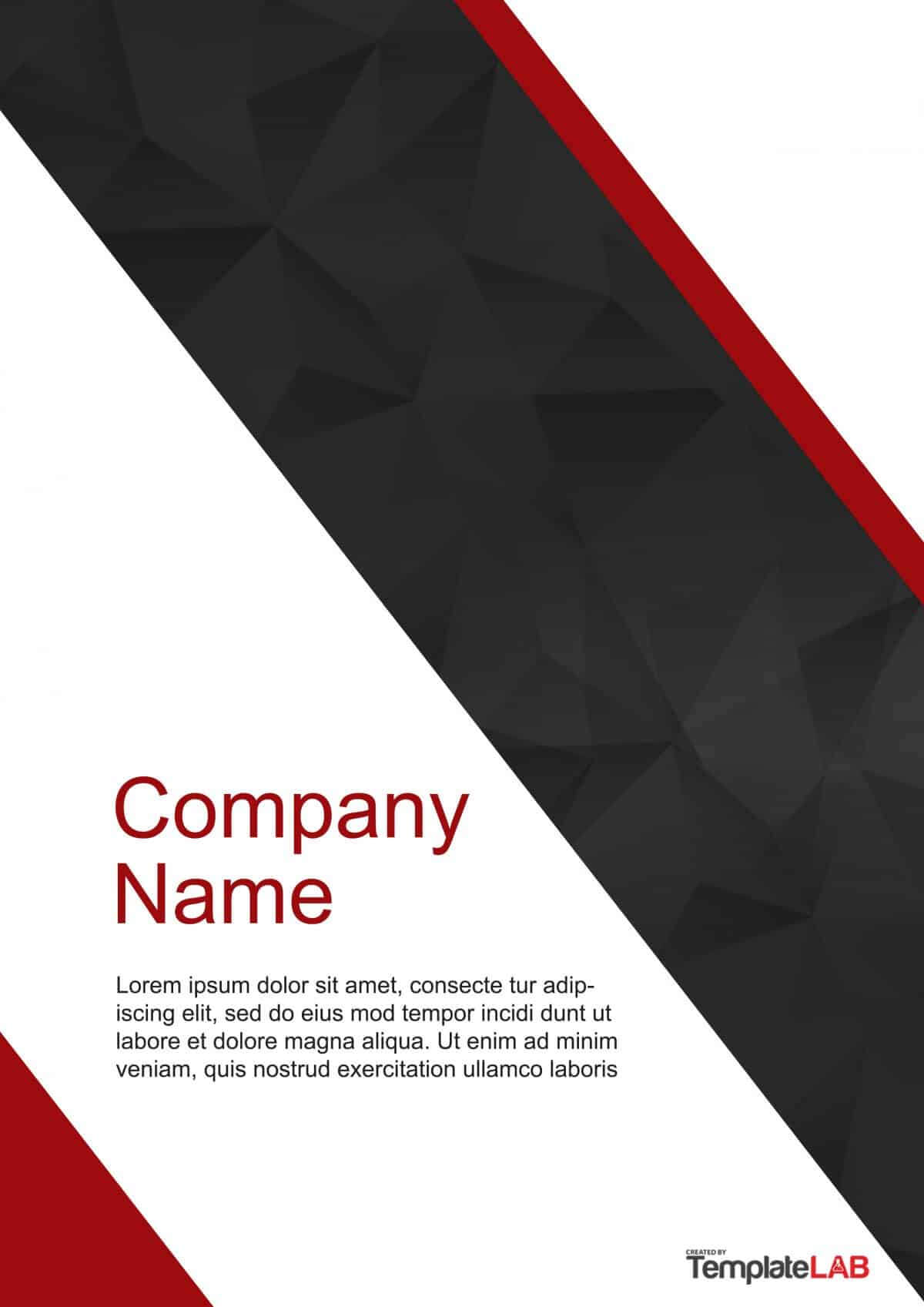 39 Amazing Cover Page Templates (Word + Psd) ᐅ Template Lab Pertaining To Microsoft Word Cover Page Templates Download