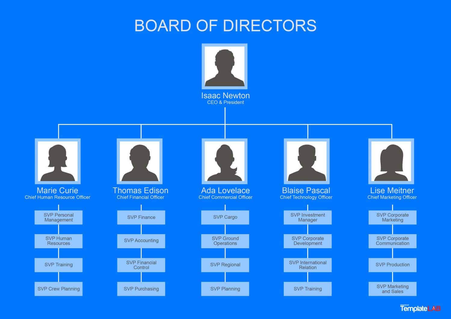 40 Organizational Chart Templates (Word, Excel, Powerpoint) With Free Blank Organizational Chart Template