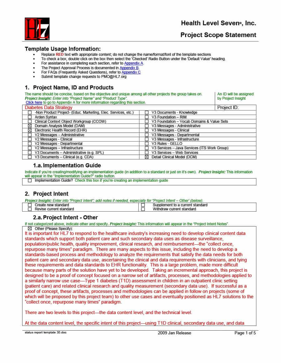 40+ Project Status Report Templates [Word, Excel, Ppt] ᐅ For Project Implementation Report Template