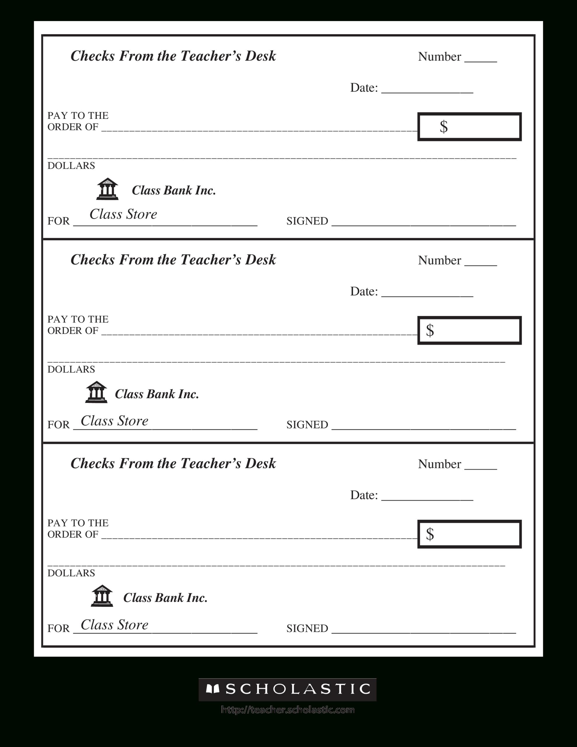 43+ Fake Blank Check Templates Fillable Doc, Psd, Pdf!! Pertaining To Customizable Blank Check Template